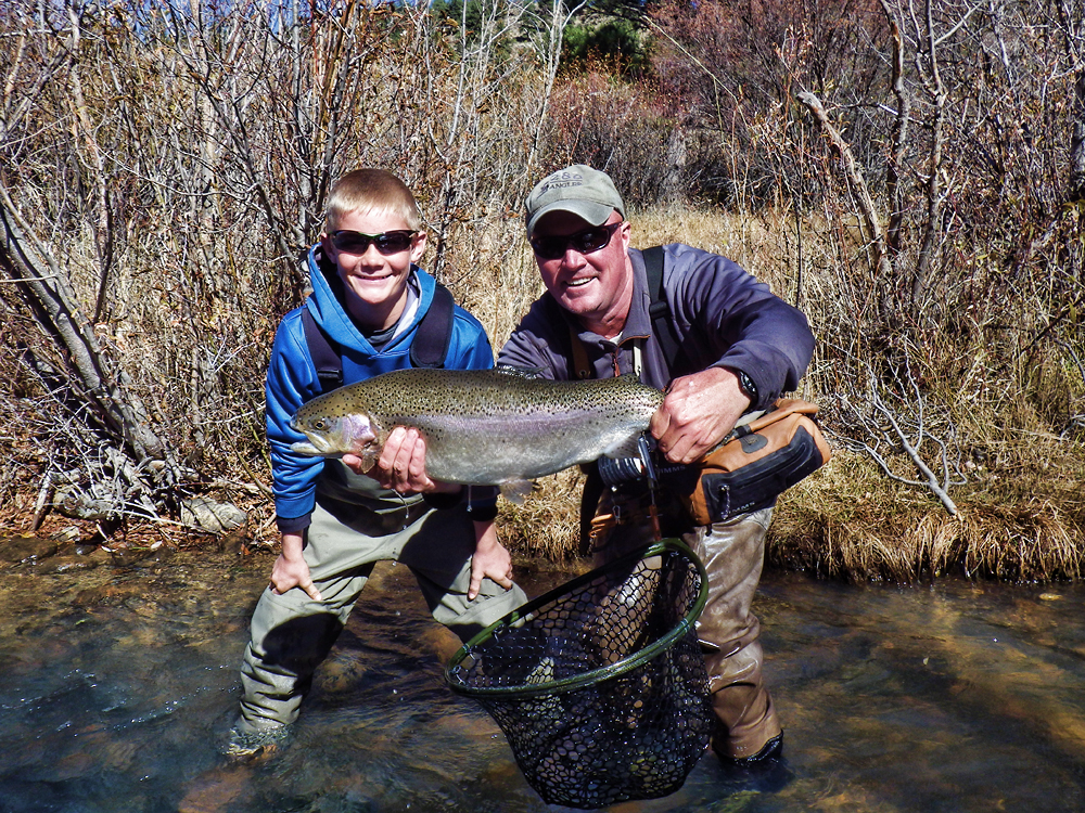 Guided Walk and Wade River Fishing Trips in Denver CO